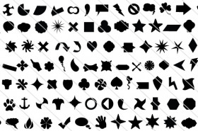 100 Quality Vector Shapes