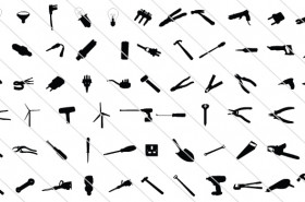 65 Electrical Silhouette Tools