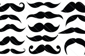 Mustache Vector Graphics (14)