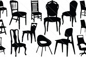 Chair Silhouette Vector (14)