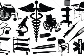 Medical Silhouette Vector (17)