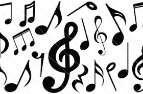 Music Notes Silhouette Vector (19)