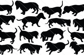 Dachshund Vector Graphics