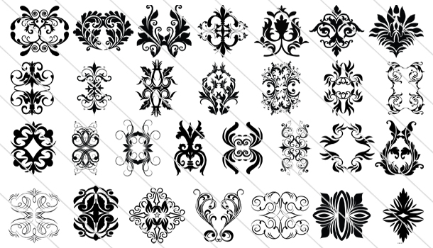 65 Victorian Ornament Design