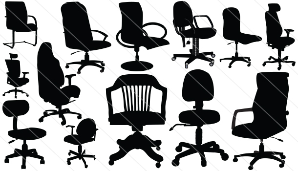 Office Silhouette Vector (13)