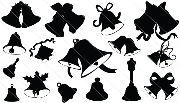 Bell Silhouette Vector(16)