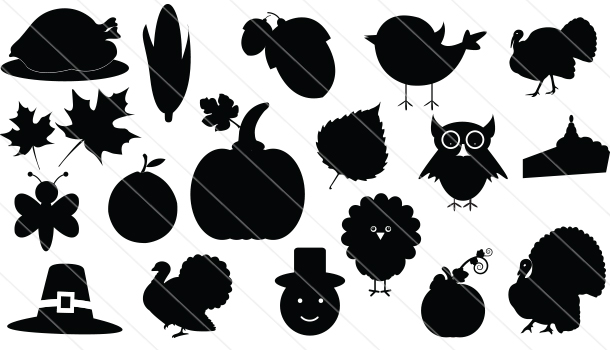 Thanksgiving Vector Icons